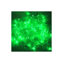 LED STRING LIGHT GREEN 110V 10M 100LED