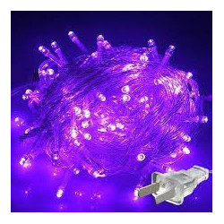 LED STRING LIGHT PURPLE 110V 10M 100LED