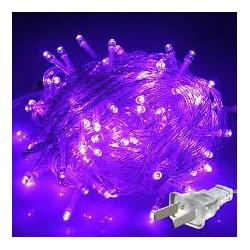 LED STRING LIGHT PURPLE 110V 10M 100LED