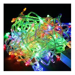 LED STRING LIGHT RGB 110V 10M 100LED