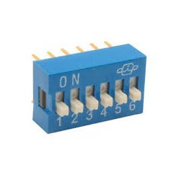 DIP SWITCH 6-POSITION