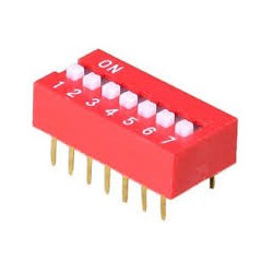 DIP SWITCH 7-POSITION