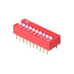 DIP SWITCH 10-POSITION