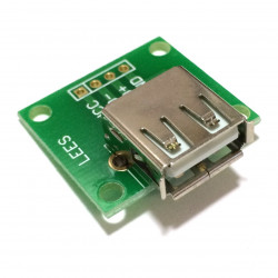 BREAKOUT BOARD FOR USB A PORT (F)