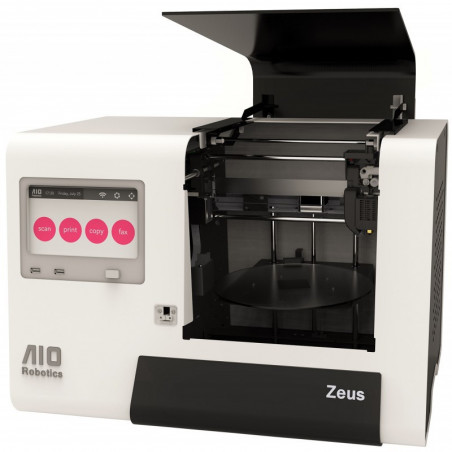 AIO ROBOTICS ZEUS ALL IN ONE 3D PRINTER WITH SCAN