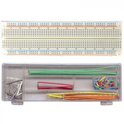 BREADBOARD W/ JUMPER SET MB-102J