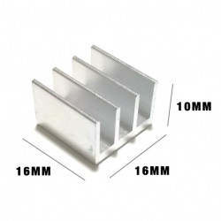HEAT SINK 16X16X10MM