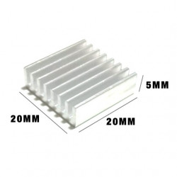 HEAT SINK 20X20X5MM