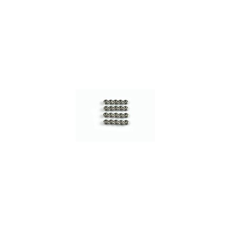 M2.6 NUTS 20PCS/PKG