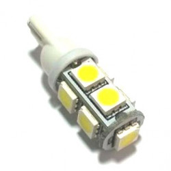 LED T10-5050 9 LED WARM WHITE