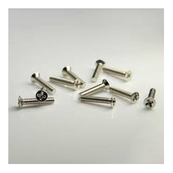 SCREW M2X6 FLAT COUNTERSUNK 100PCS/PKG