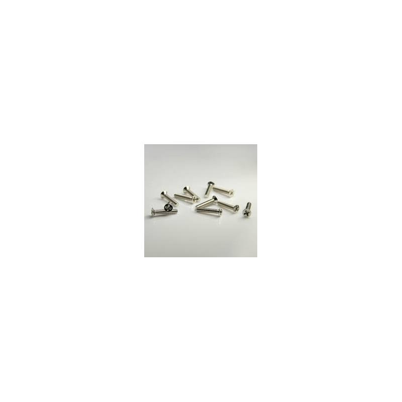 SCREW M2X5 FLAT COUNTERSUNK 100PCS/PKG