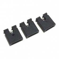 JUMPER SHUNT 2 PIN (OPEN) LARGE 4/PKG