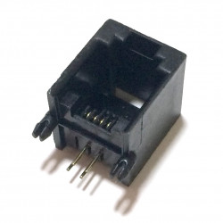 PC MOUNT MODULAR JACK 6P/4C 12-264 1PCS EACH
