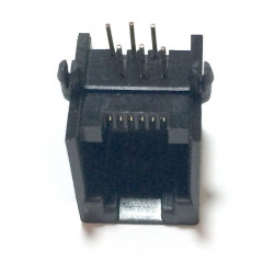 6P/6C PC MOUNT MODULAR JACKS 12-266-0