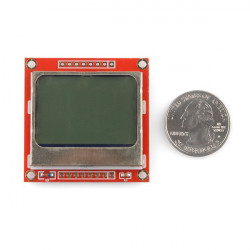 LCD GRAPHIC DISPLAY, 84X48, NOKIA 5110