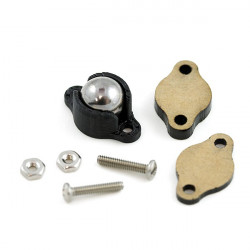 "BALL CASTER METAL - 3/8"" 2/SET"