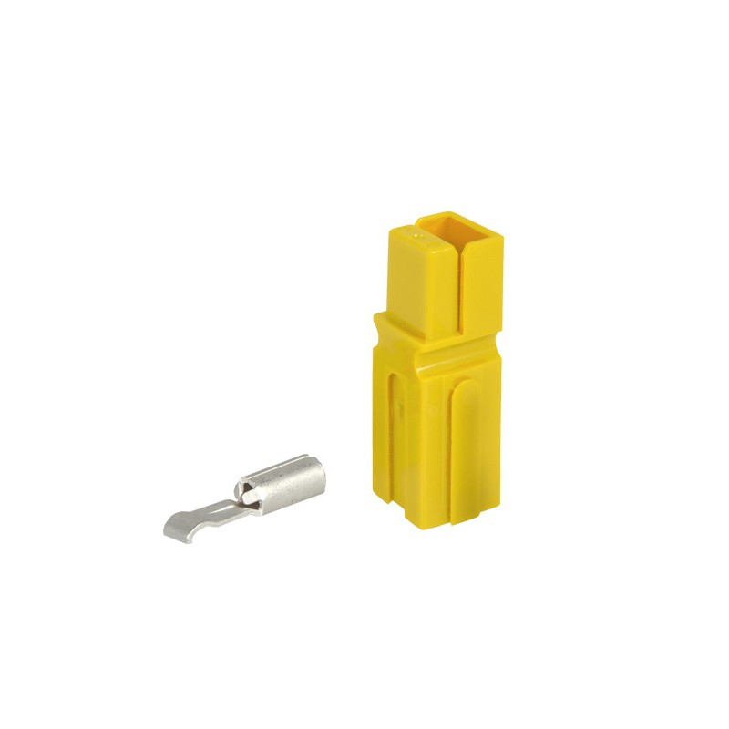 CONNECTORS, ANDERSON, MODEL: 1327G16 YELLOW 2/PKG