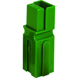 CONNECTORS, ANDERSON, MODEL: 1327G5 GREEN 2/PKG
