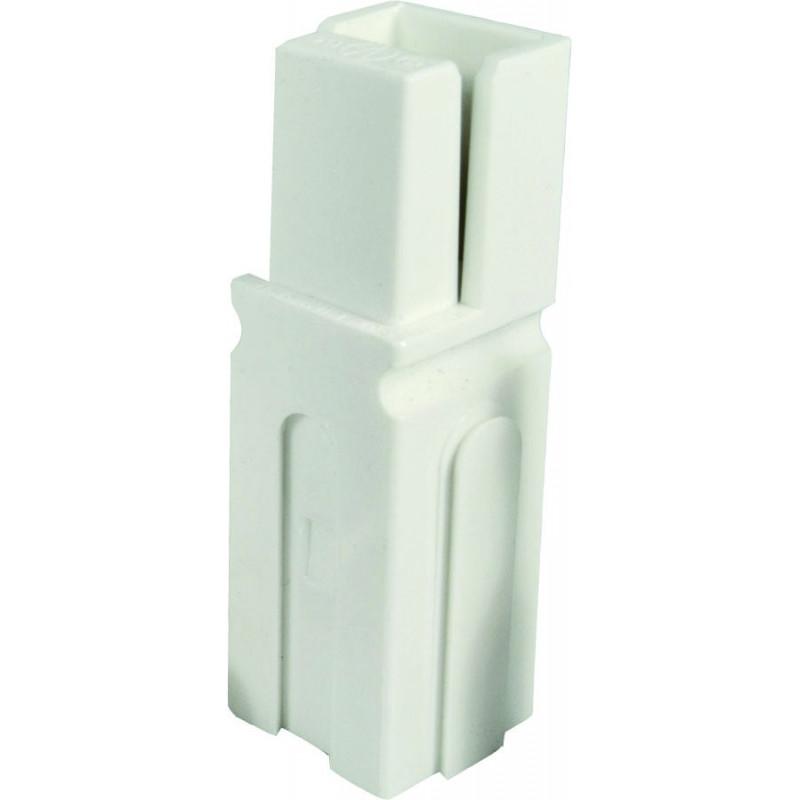 CONNECTORS, ANDERSON, MODEL: 1327G7 WHITE 2/PKG