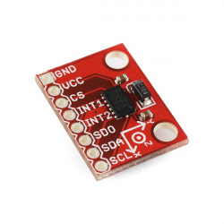 ARDUINO TRIPLE AXIS ACCELEROMETER, DIGITAL ADXL345