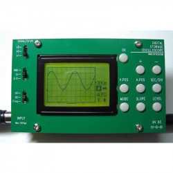 DIGITAL STORAGE OSCILLOSCOPE WITH PANELS