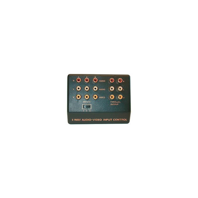 CVS880 A/V 3-WAY SELECTOR