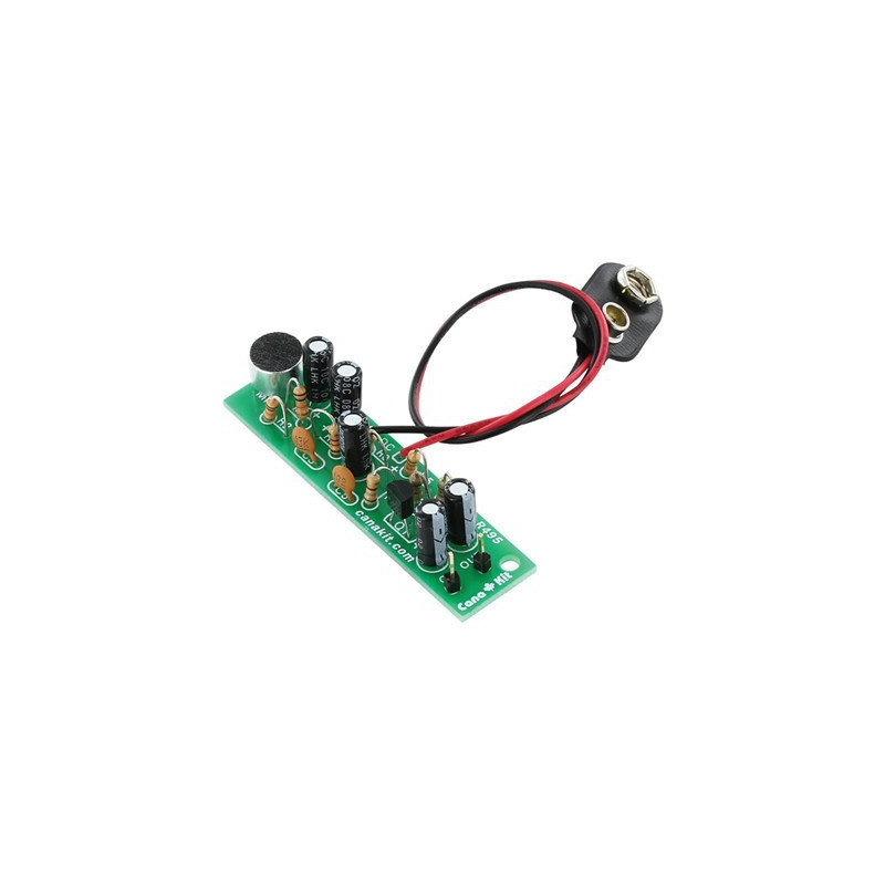 KIT, UK495 ELECTRET MICROPHONE PRE-AMP