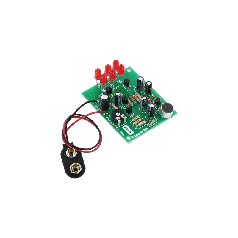 KIT, CK457 6-LED SUPER SENSITIVE SOUNT-LIGHT CONV.