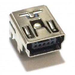 USB MINI B(F) PCB MOUNT