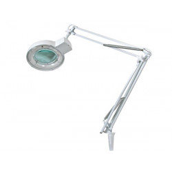 LAMP WITH MAGNIFYING GLASS 8 DIOPTRE - 22W WHITE