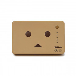 CHEERO POWER PLUS DANBOARD 10400mAh LIGHT BROWN