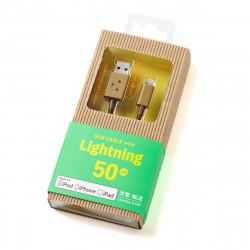 DANBOARD USB CABLE W/LIGHTNING 50CM