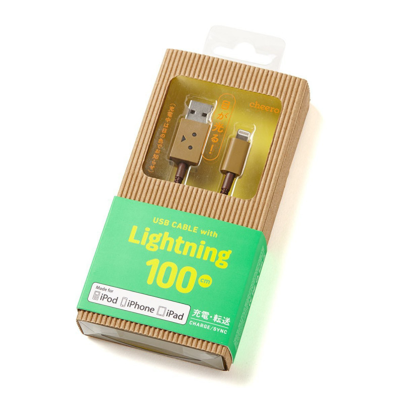 DANBOARD USB CABLE W/ LIGHTNING 100CM
