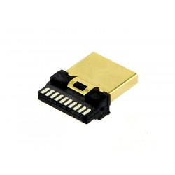 HDMI MALE CONNECTOR BARE