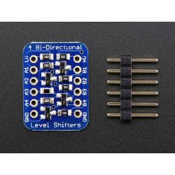 4-CHANNEL I2C-SAFE BI-DIRECT LOG. LEVEL CONVERTOR