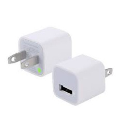 USB TO AC POWER CHARGER 1A( iPOD & iPHONE) 5V