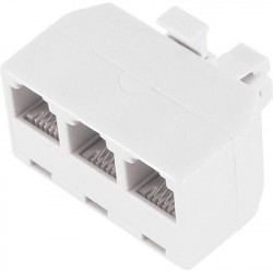 TELEPHONE ADAPTER, 3 WAY SPLITTER 1 IN 3 OUT