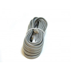 TELEPHONE CABLE, RJ12(6P6C), 25FT