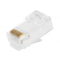 RJ-45 CAT6 CRIMP CONNECTOR 4PCS/PKG