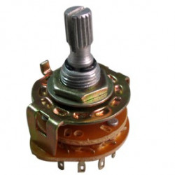 ROTARY SWITCH 1P/12T METAL FRAME
