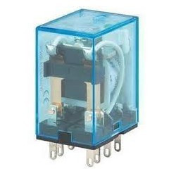 RELAY,OMRON,MY2J,DPDT,12VAC COIL,5A