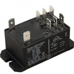 RELAY,HIGH POWER,120VAC COIL,DPDT,30A, T92S11A22