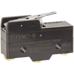 MICRO SWITCH,Z SERIES,SPDT,15A,Z-15GW21-B