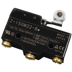 MICRO SWITCH,Z SERIES,SPDT,15A,Z-15GW22-B