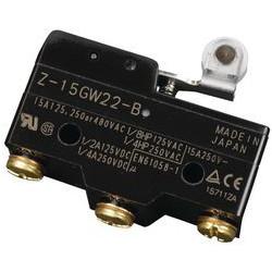 MICRO SWITCH,Z SERIES,SPDT,15A,Z-15GW22-B