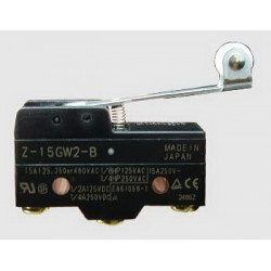 MICRO SWITCH,Z SERIES,SPDT,15A,Z-15GW2-B