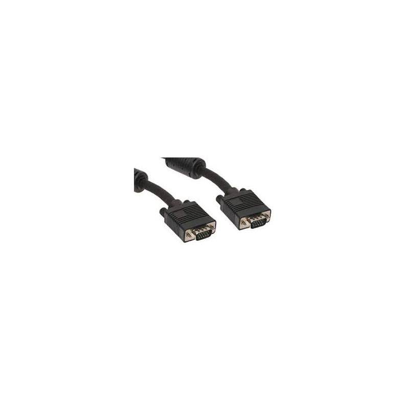 VIDEO CABLE,VGA,M/M,10M,W/ FT4/CMG