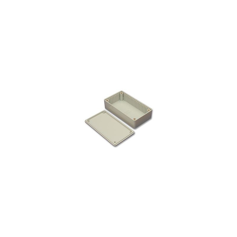 HAMMOND PLASTIC BOX 85X35X60MM 1591LGY