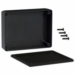 HAMMOND PLASTIC BOX 121X94X34MM 1591GSBK